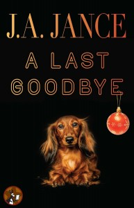 Cover for Ali Reynolds book #10, A Last Goodbye